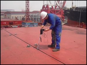 Hatch Cover Tightness Testing on Ships