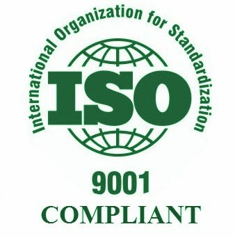 ISO 9001 Compliant - Green